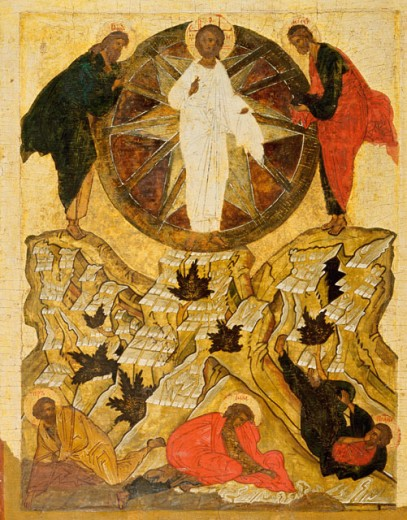 Stock Photo: 1009-6080 The Transfiguration of Our Lord