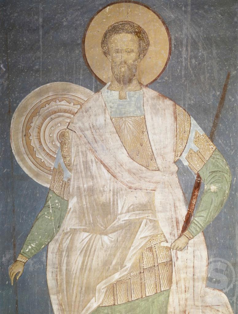 Stock Photo: 1009-6131 The Saint  16th Century  Dionysij (c. 1440-aft. 1503/ Russian) Fresco