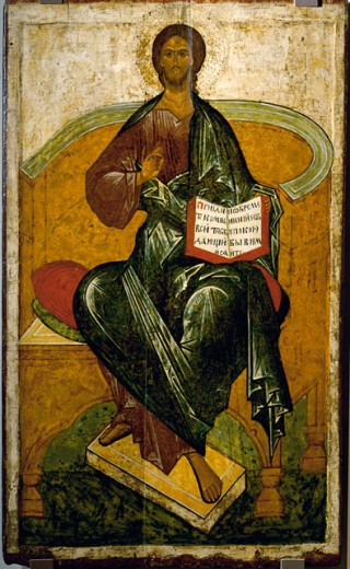 The Savior Sitting On The Throne