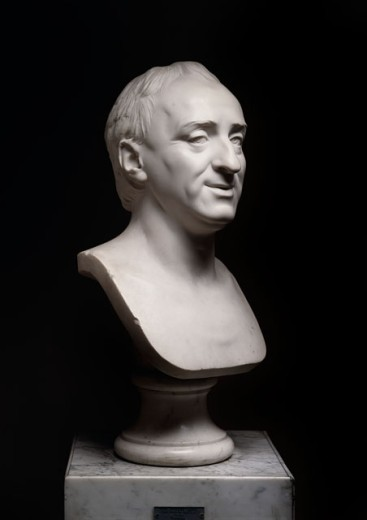 Portrait of Diderot