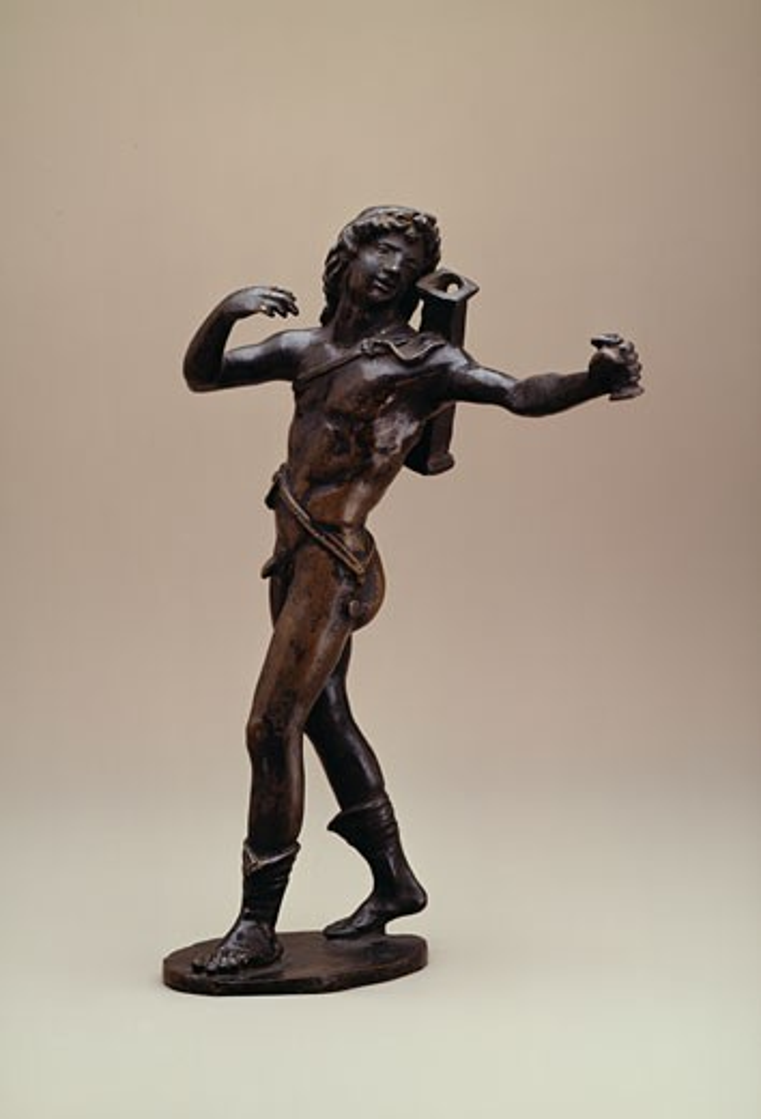 Apollo Bertoldo di Giovanni (ca.1420-1491 Italian) Bronze State Hermitage Museum, St. Petersburg, Russia : Stock Photo