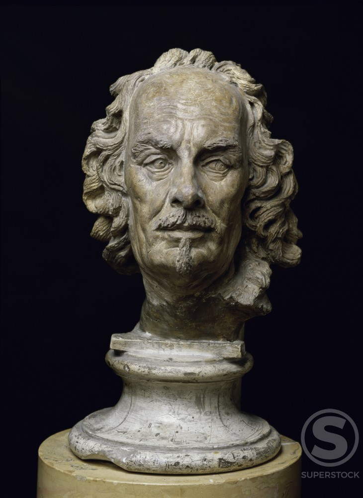 Stock Photo: 1009-6213 Portrait of Bernini
