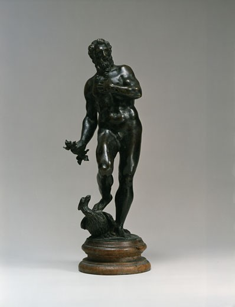 Stock Photo: 1009-6235 Jupiter Alessandro Vittoria (1525-1608 Italian) Bronze Sculpture State Hermitage Museum, St. Petersburg, Russia