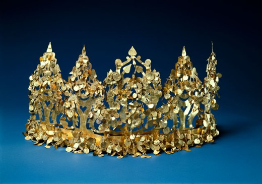 Stock Photo: 1009-6390 Bactrian Gold: Crown