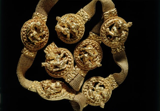 Stock Photo: 1009-6393 Bactrian Gold: Belt (Detail)