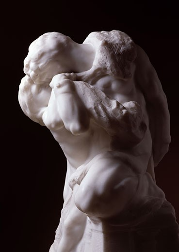 Romeo and Juliet 1905 Auguste Rodin (1840-1917 French) Hermitage Museum : Stock Photo