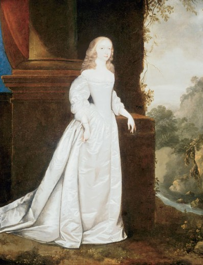 Portrait Of Lady Earle 