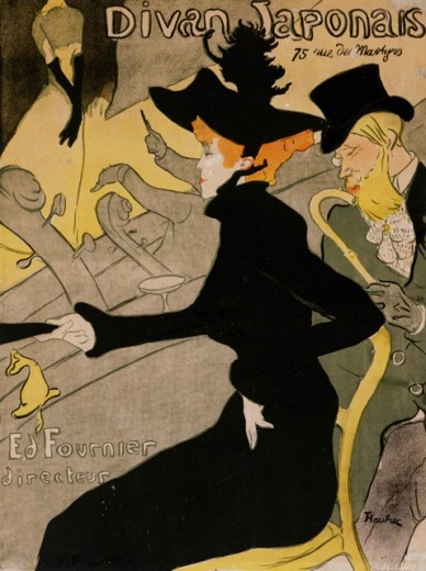 Stock Photo: 1010-15500 Divan Japonais 