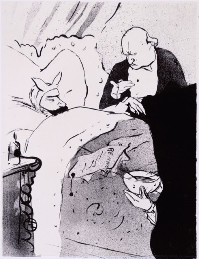 Stock Photo: 1010-15510 Carnot Malade 