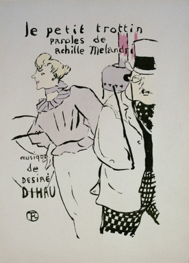 Stock Photo: 1010-15553 Le Petit Trottin