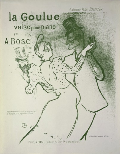 Stock Photo: 1010-15568 La Goulue