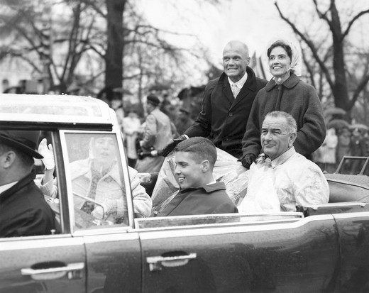 Stock Photo: 1016-W174 Vice-President Lyndon B. Johnson