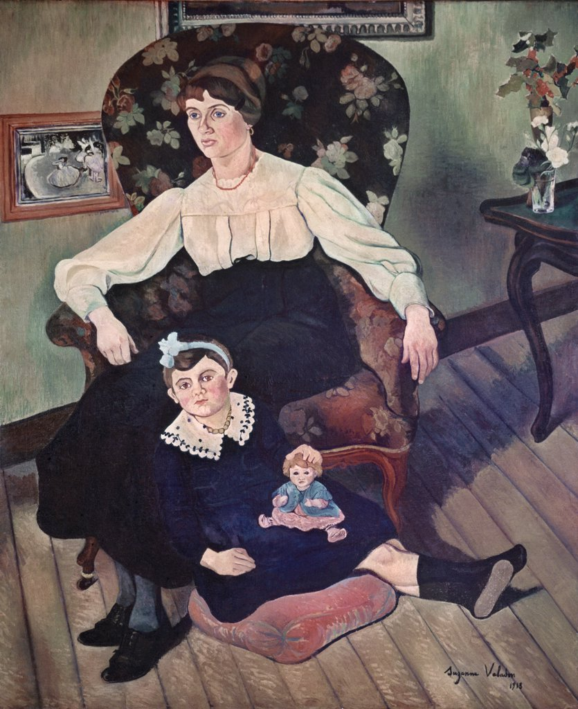 Stock Photo: 1030-1006 Portrait of the Artist's Niece