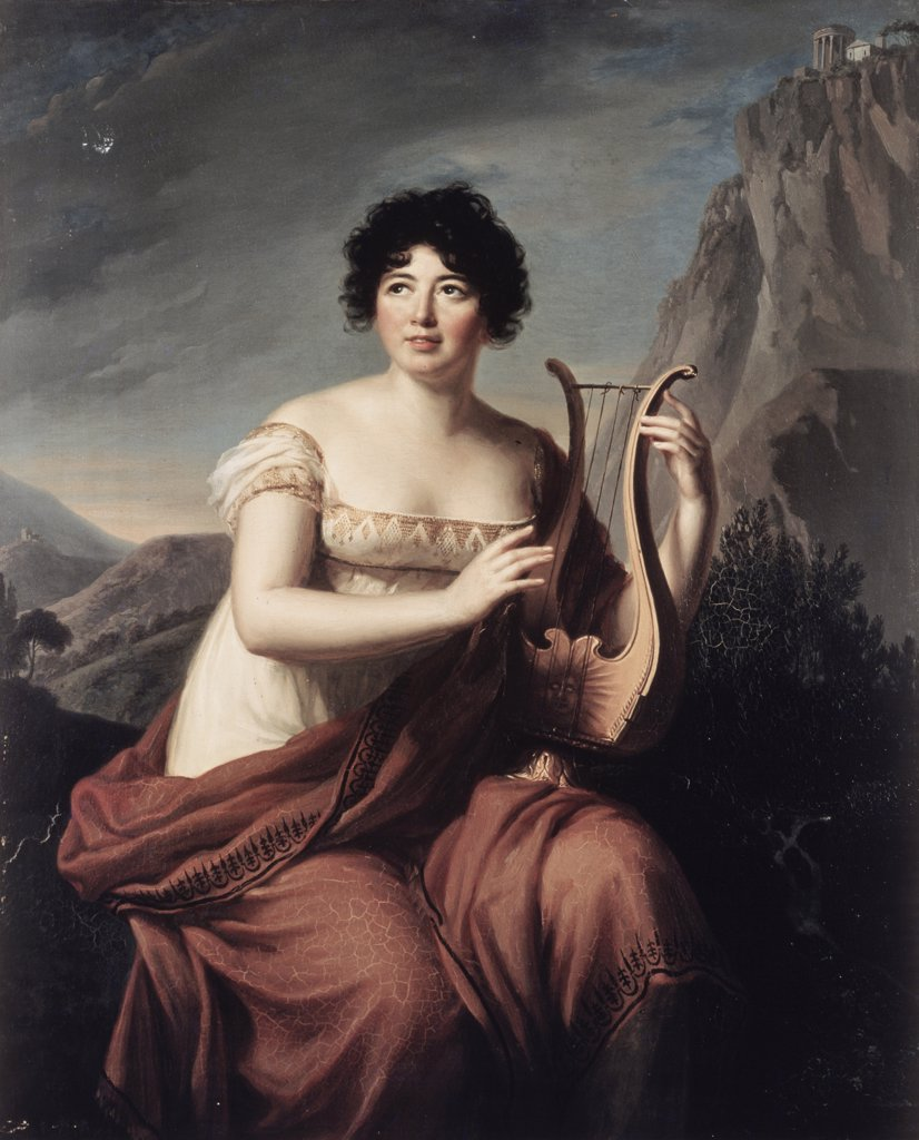"Stock Photo: 1030-1047 Madame De Stael En ""Corinne""