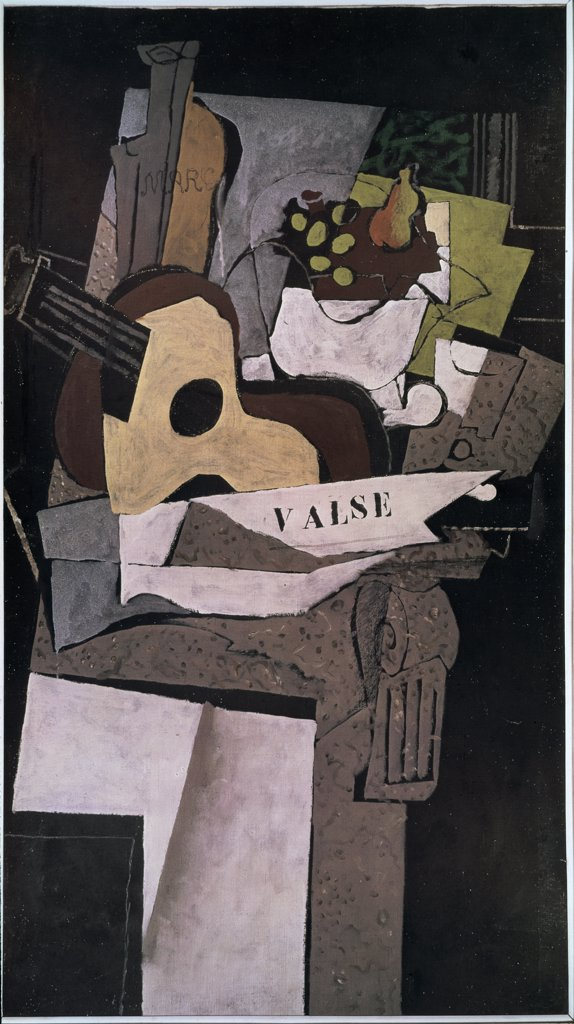 Stock Photo: 1030-1396 Still Life with a Guitar