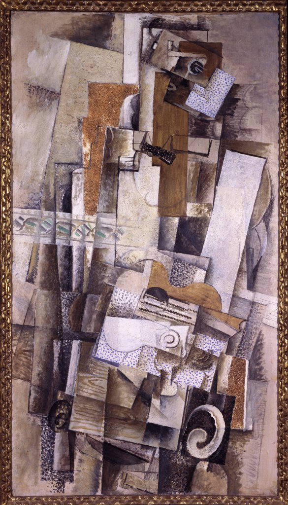 Stock Photo: 1030-1406 Man with a Guitar