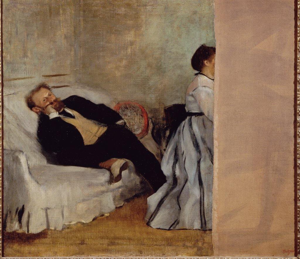 Stock Photo: 1030-141 Mr. and Mrs. Edouard Manet