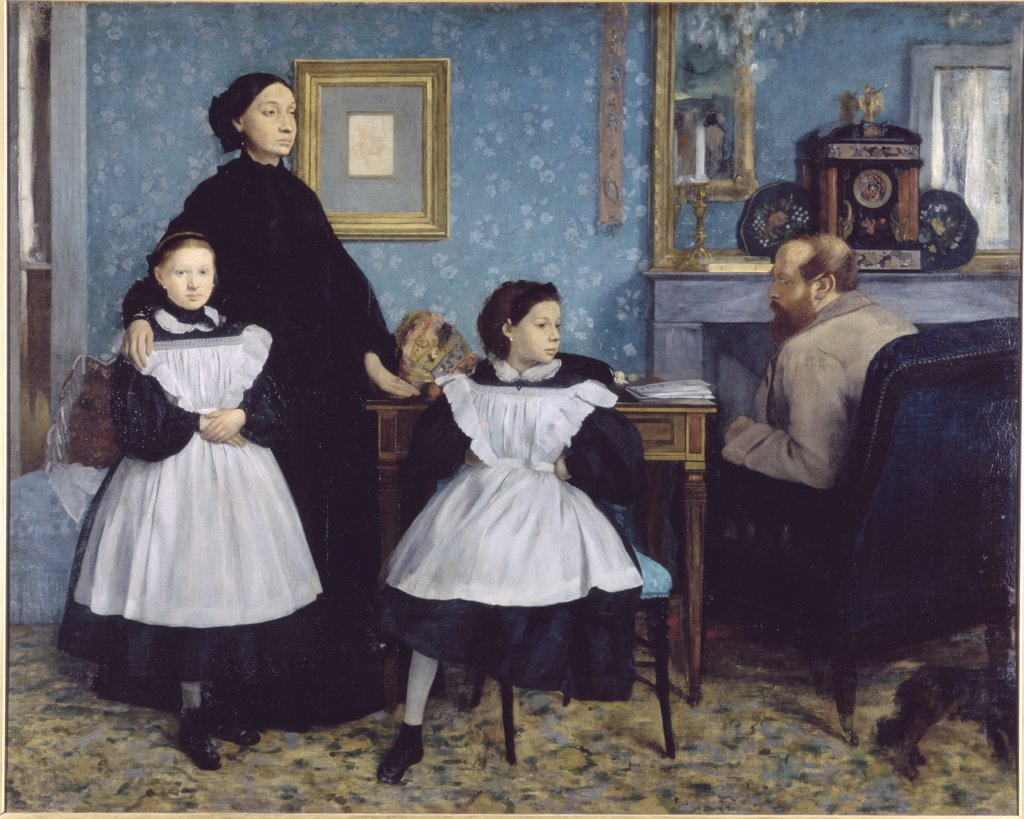 Stock Photo: 1030-143 The Bellelli Family