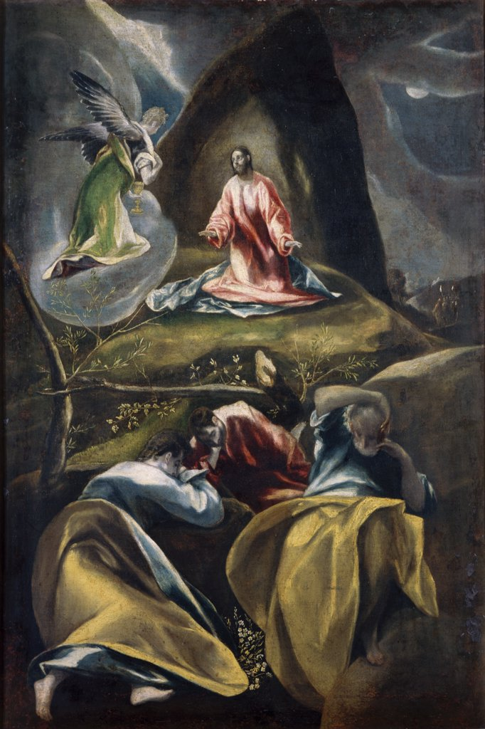 Stock Photo: 1030-1503 Christ in the Garden of Olives