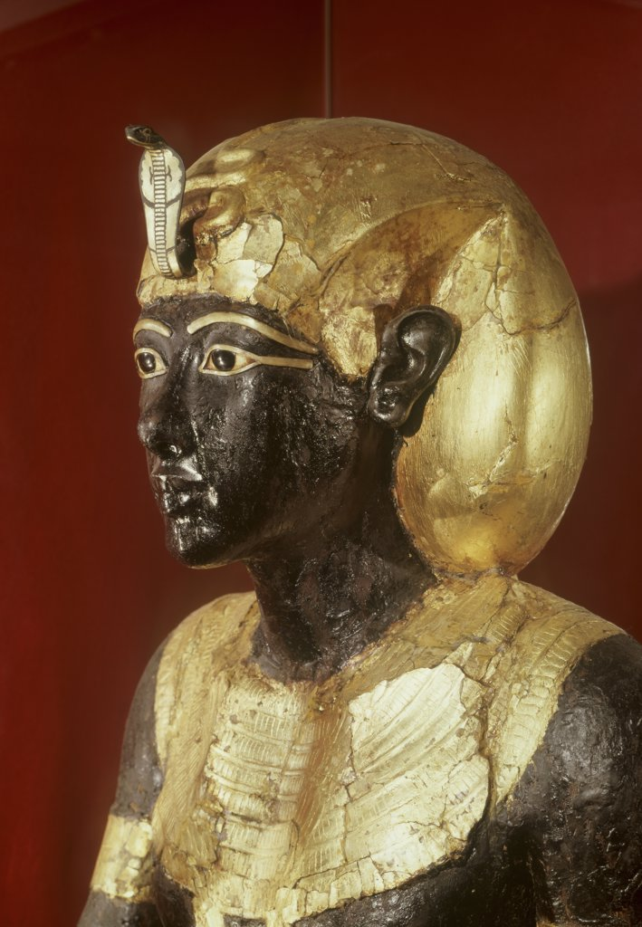 Stock Photo: 1030-1582 Statue of Ka of Tutankhamen. 