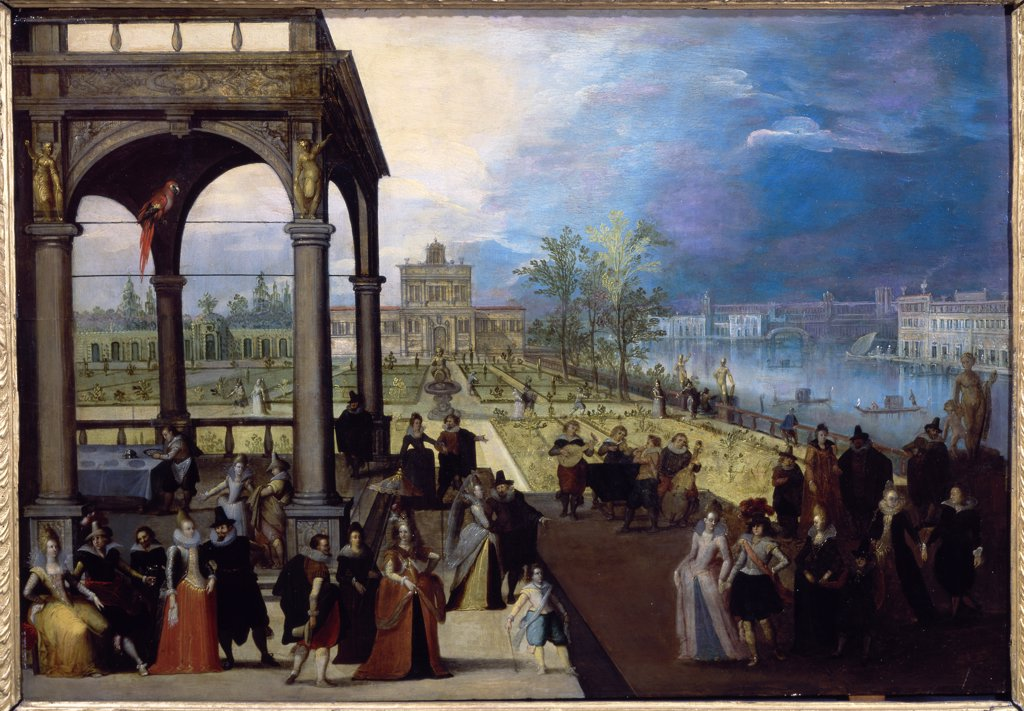 Fete Dans Un Palais
