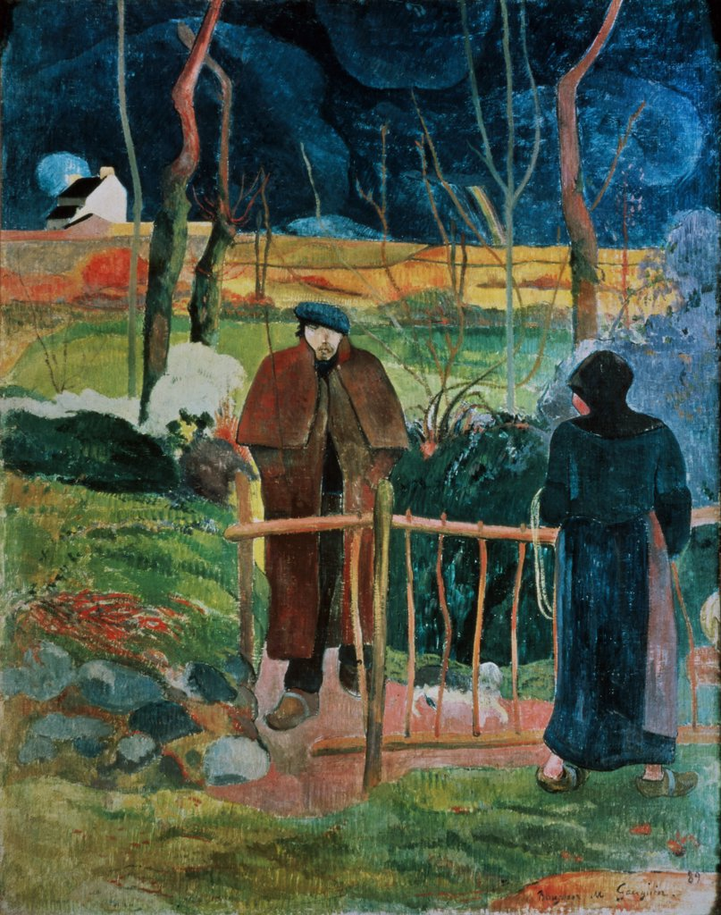 Stock Photo: 1030-2 Good Morning, Mr. Gauguin 