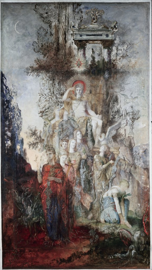 The Muses Leaving Apollo To Go & Enlighten the World
