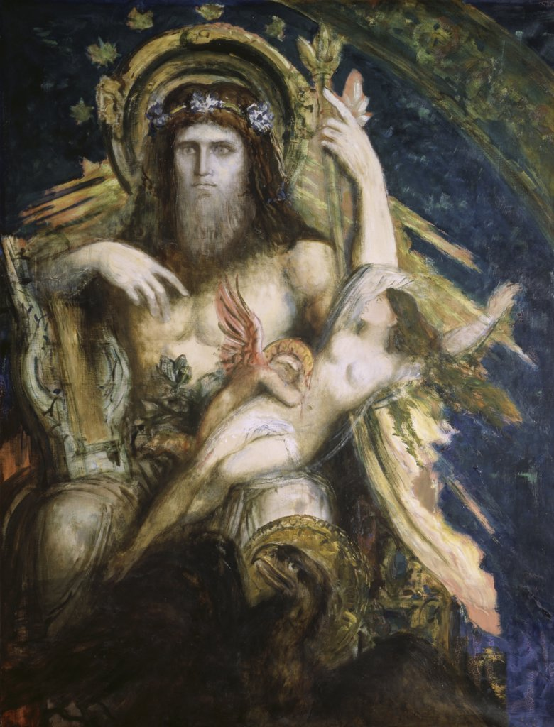 Stock Photo: 1030-244 Jupiter and Semele