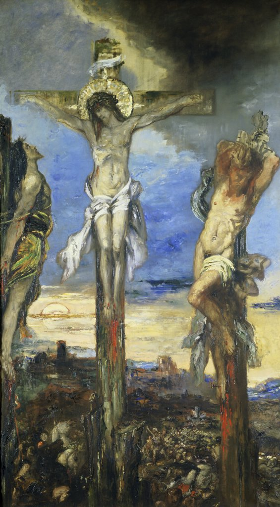 Stock Photo: 1030-246 Christ and the Two Thieves