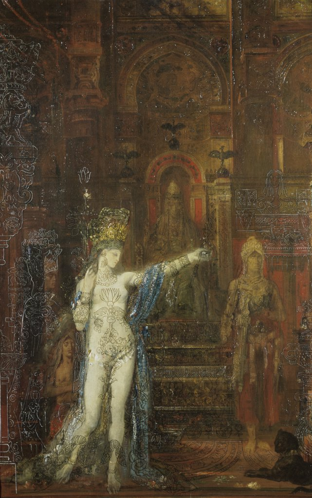 Stock Photo: 1030-248 Salome Dancing