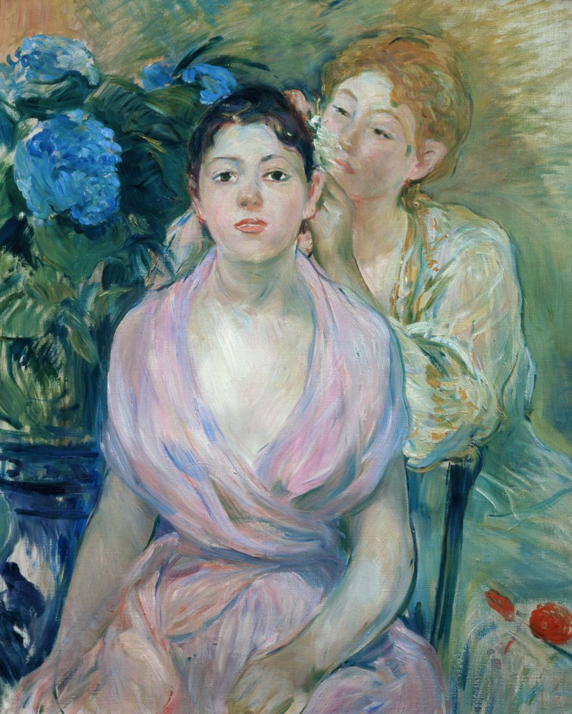 Stock Photo: 1030-256 The Hydrangea  (The Two Sisters) 