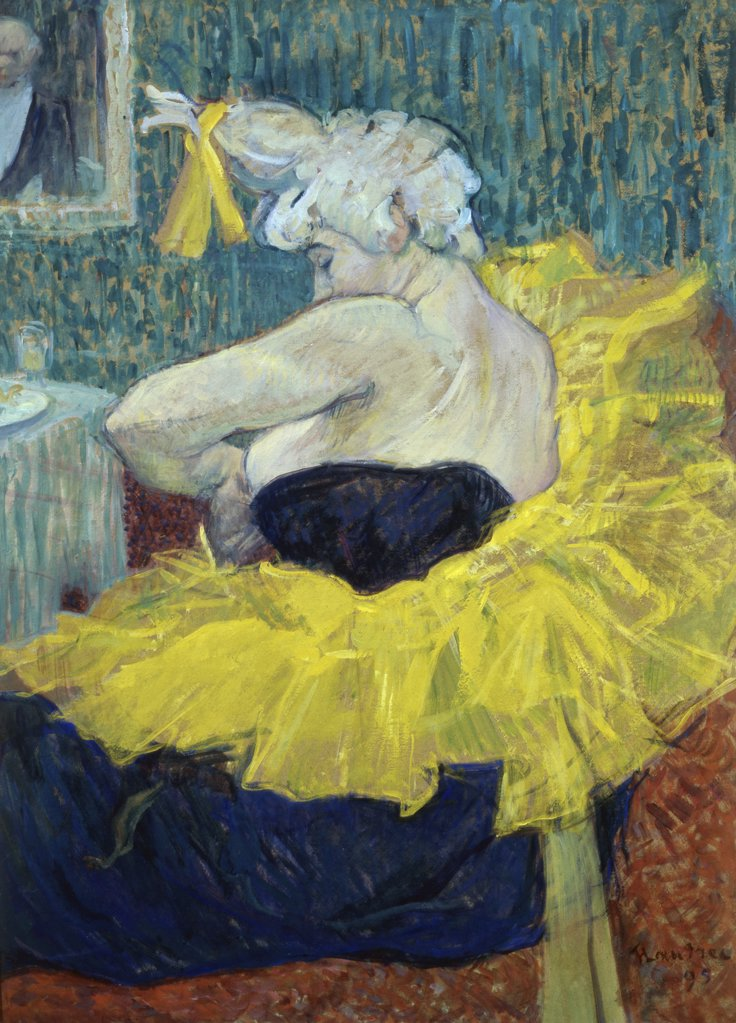 Stock Photo: 1030-295 The Lady Clown Chau-U-Kao