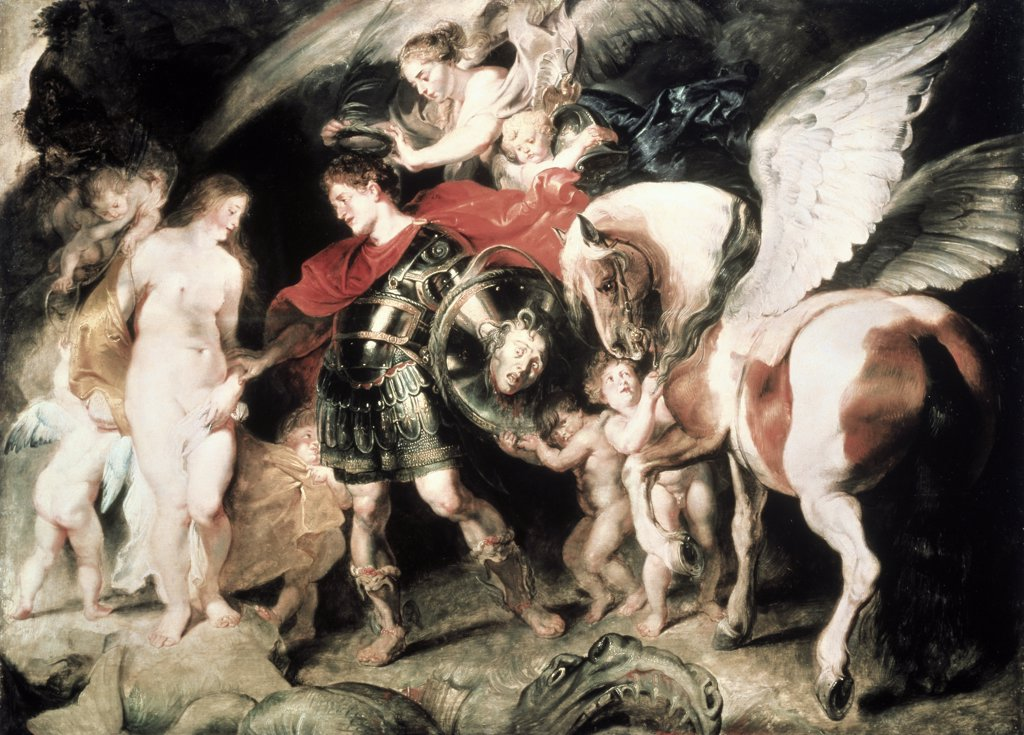 Perseus Liberating Andromeda
