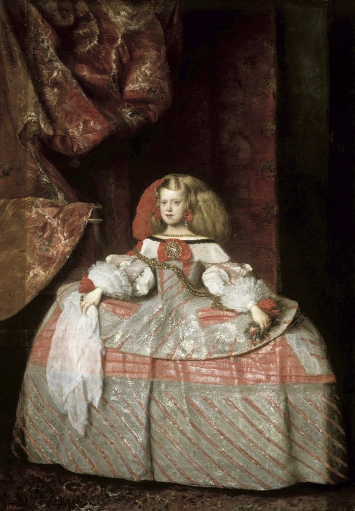 Stock Photo: 1030-417 The Infanta Don Margarita de Austria