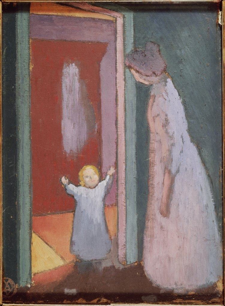 Stock Photo: 1030-462 The Child in the Doorway