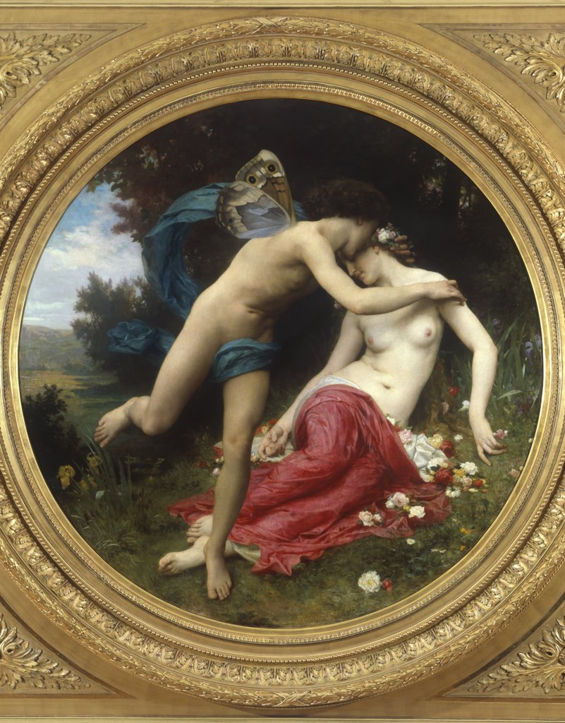 Stock Photo: 1030-481 Flora and Zephyr 