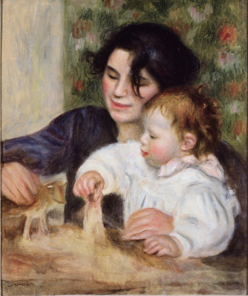 Stock Photo: 1030-55 Gabrielle and Jean