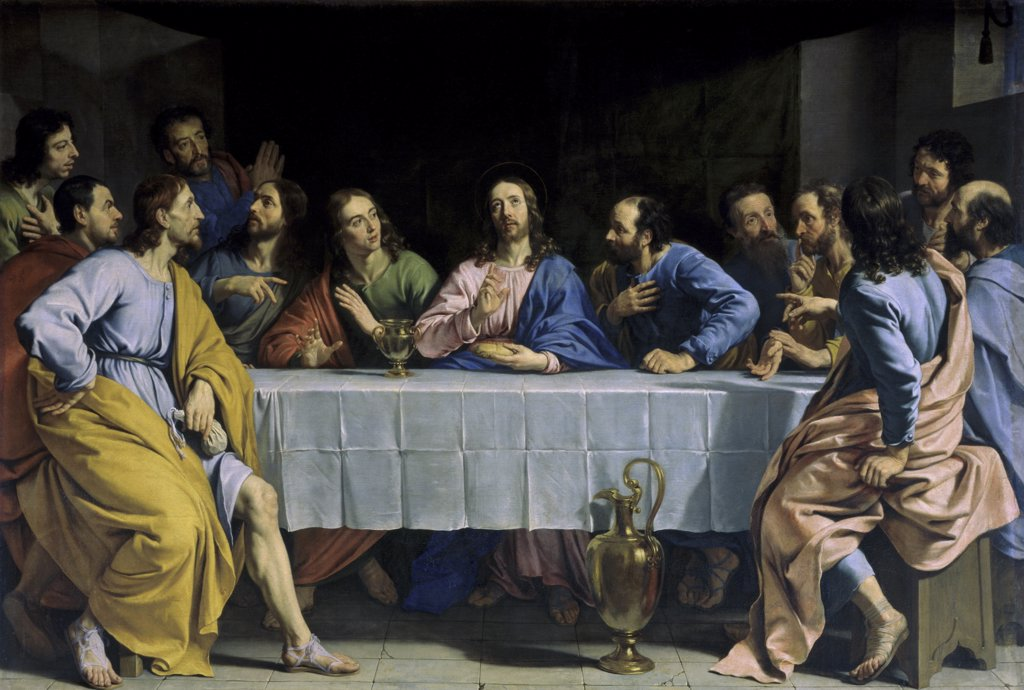 Stock Photo: 1030-617 The Last Supper