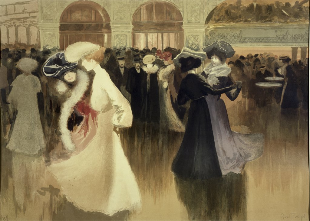 Stock Photo: 1030-738 Dance in Paris 