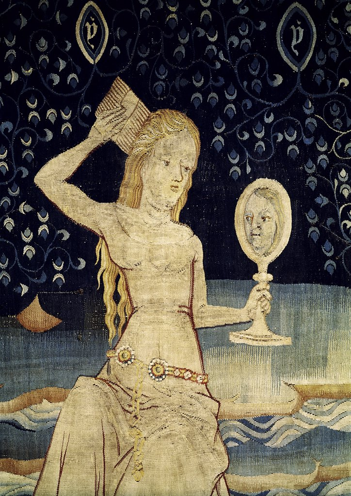 Stock Photo: 1030-785 Apocalypse of Angers: The Grand Prostitute