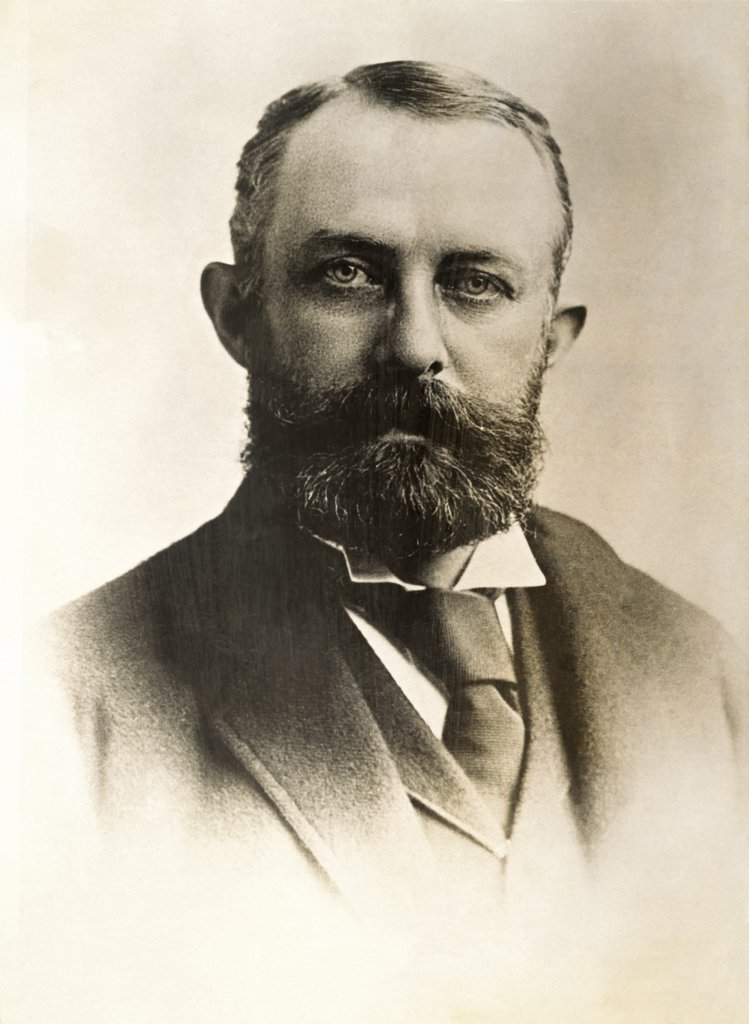 Stock Photo: 1035-1055 Henry Clay Frick, (1849-1919), American Industrialist