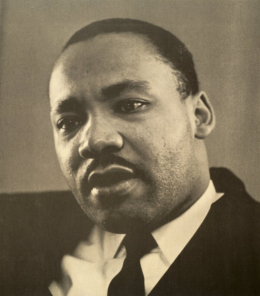 Dr. Martin Luther King, Jr., (1929-1968), American Civil Rights Leader : Stock Photo