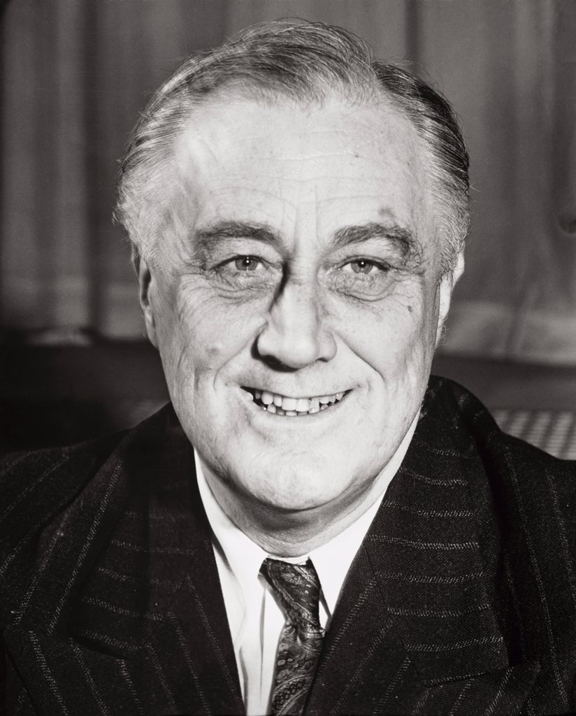 Stock Photo: 1035-1067 Franklin D. Roosevelt, (1862-1945), 32rd President of the United States
