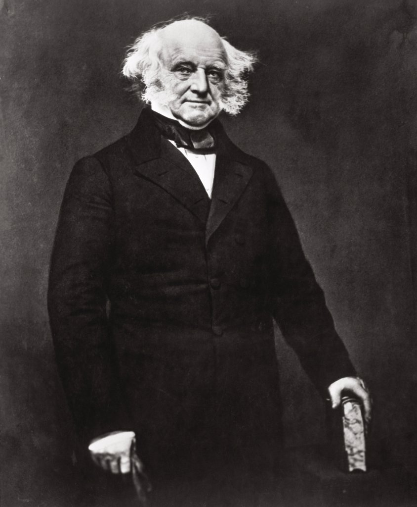 Stock Photo: 1035-1074 Martin van Buren