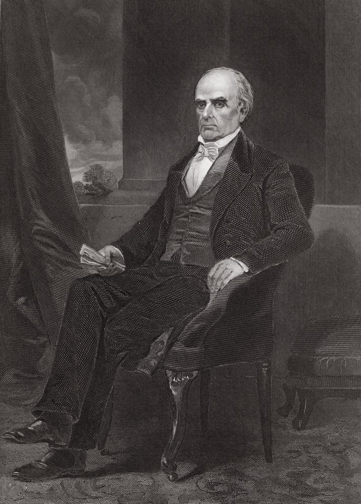 Stock Photo: 1035-1075 Daniel Webster 