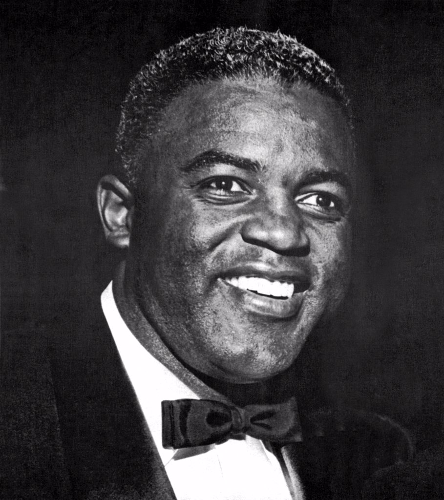 United States: c. 1953 Jackie Robinson, the first African American to play major league baseball. He was also a baseball commentaor and author. : Stock Photo