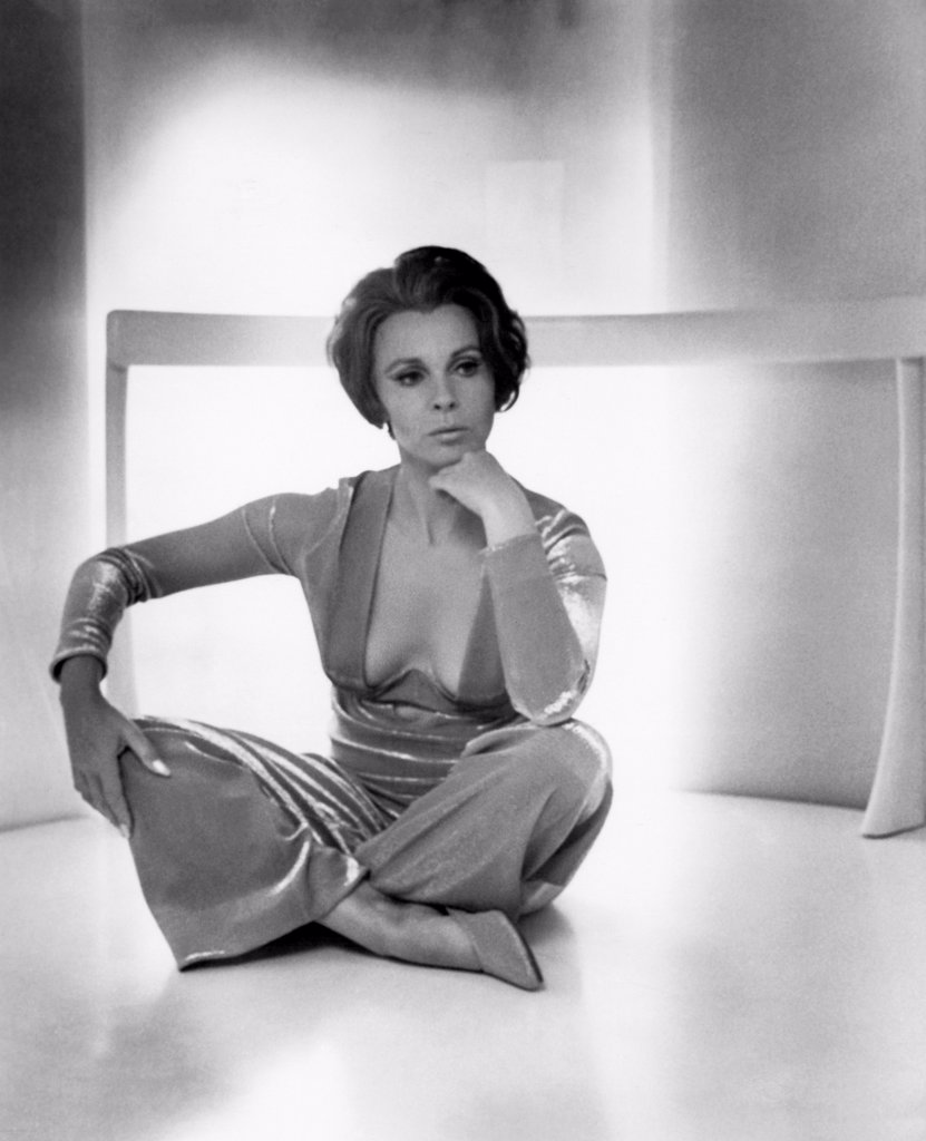Hollywood, California:  c. 1968 Actress Claire Bloom. : Stock Photo