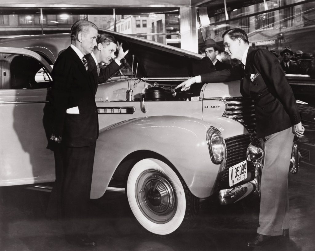 Stock Photo: 1035-161 Chrysler De Soto 