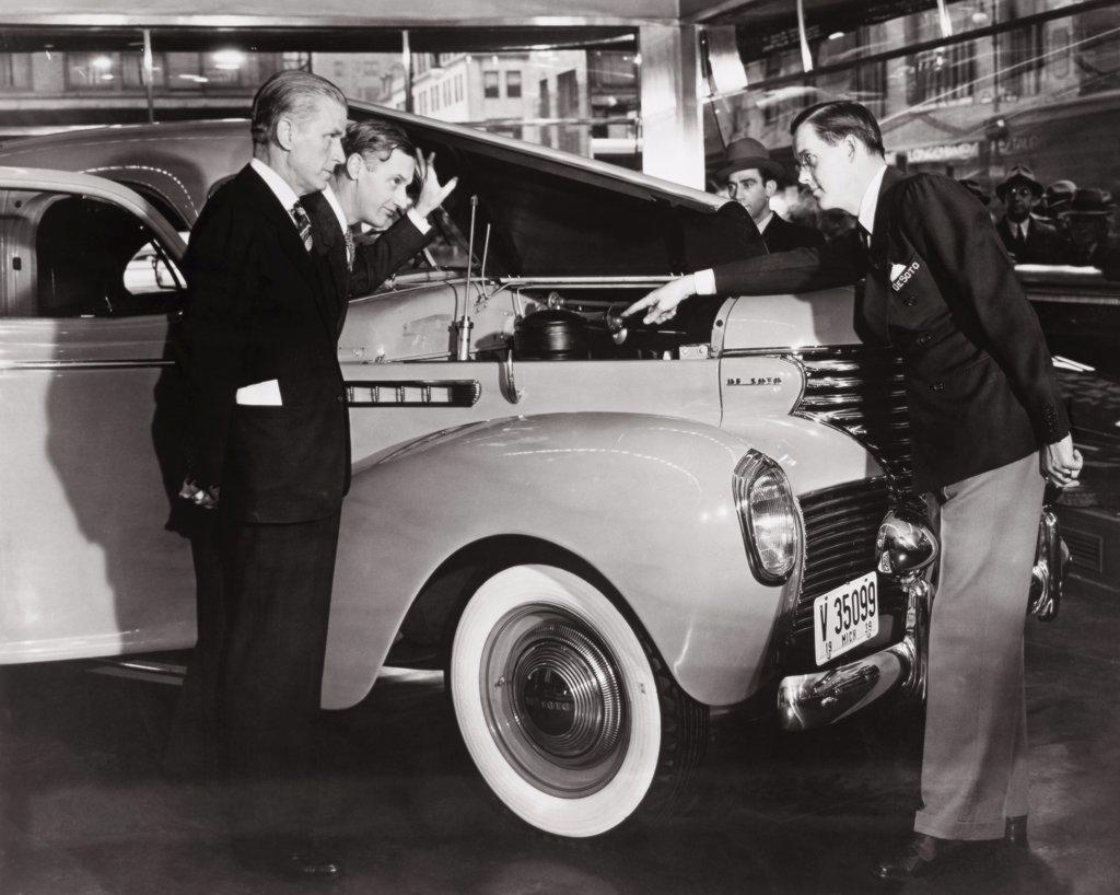 Stock Photo: 1035-161 Chrysler De Soto  1939