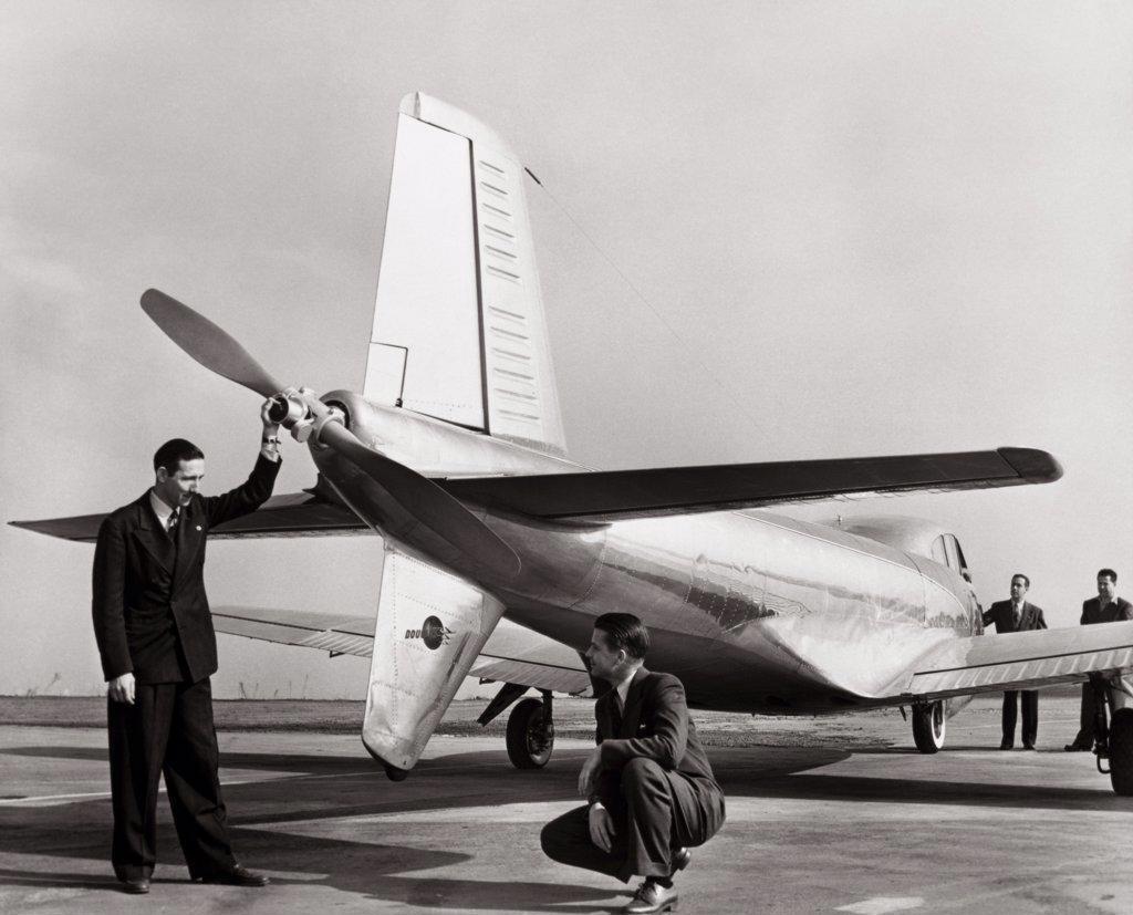 Cloudster Douglas Aircraft   : Stock Photo